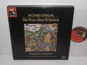 EX 7 49074 1 Richard Strauss Die Frau Ohne Schatten Sawallisch 3LP Box Set