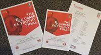 FA TROPHY AFC Fylde v Leyton Orient FINAL Programme with teamsheet 19/5/19!