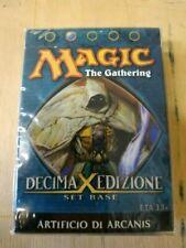 Mazzi sigillati e kit di carte gioco collezionabili Magic: The Gathering decima edizione