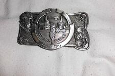 1883 - 1983 Centennial Celebration Kingman Kansas  Belt Buckle  Limited Edition