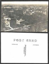 Old Iowa Real Photo Reproduction Postcard - Le Mars - View from Court House