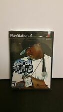 NEW Factory sealed GET ON DA MIC KARAOKE  RAP GAME FOR PLAYSTATION 2 PS2