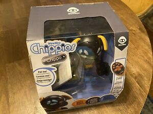 WowWee Chippies Robot Toy Dog - Chippo (Black) NEW & Pristine. See Description!