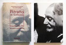 Ritratto di Sottsass di Andrea Branzi Foto G. Varchetta 1994 Ediz. L'Archivolto