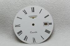 Longines Gents White Numerals Quartz Wristwatch Dial - 29mm NOS