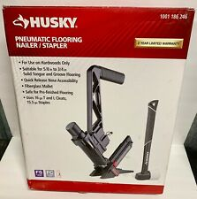 Husky HDUFL50  Pneumatic 16-Gauge Flooring Nailer/Stapler with Quick Release