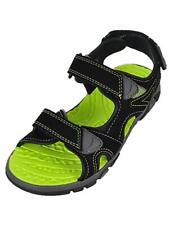 Khombu Junior Kids Boys River Luke Sandals Black Neon Green Us 12K