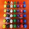 6-Dice Sided D4 D6 D8 D10 D12 D20 Magic-the-Gathering MTG D&D RPG Poly Game Set