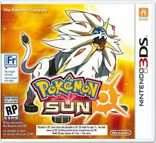 Pokemon Sun [Nintendo 3DS, Exclusive RPG, Monster Battle Catching] NEW