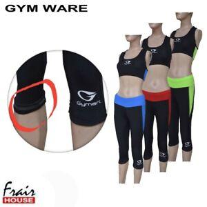 Women Gym Wear Yoga Suit Vest Bra Legging Wear Pants Trouser Outfit Running Suit