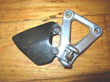 DUCATI OEM  RIGHT FOOT PEG ASSEMBLY BRACKET   748 916 996 998 CARBON FOOT GUARD