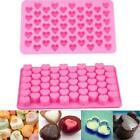 Silicone Cute Heart Design Cake Chocolate Cookies Candy Baking Mould Molds