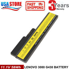 Battery for Lenovo 3000 G430 G450 G530 G550 G555 Series L08S6Y02 42T4725 laptop