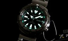 SEIKO BLACK SHROUDED MONSTER BABY TUNA 200M DIVER'S WATCH SRP637 K1 RARE NEW