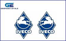 1 Paar IVECO ROUTEN - LKW Aufkleber - Sticker - Decal !-!