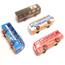 Cartoon school bus students Shuttle Back Plastic school car Child model car New