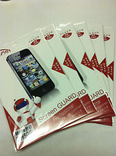 6X Anti Glare Matte Screen Protector Guard Film For Apple iPhone 5S/ 5G