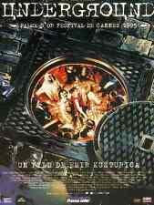 Bande annonce cinéma 35mm 1995 Underground Emir Kusturica Slavko Stimac
