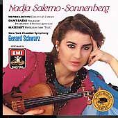 Nadja Salerno-Sonnenberg Plays Mendelssohn, Saint-Saens and Massenet (CD,...