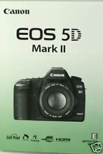 Canon EOS 5D II Instruction Owners Manual EOS5DII Book