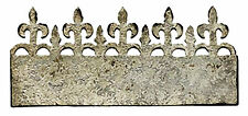 Sizzix Iron Gate On-the-Edge die #656918 Retail $15.99 Tim Holtz-Cuts Fabric