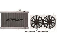 MISHIMOTO X-Line 3 Row Radiator+Shroud+Fans 94-01 Acura Integra