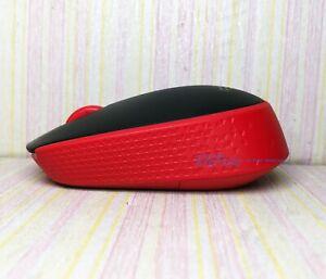 Logitech M171 Wireless Mouse Office Home Computer Notebook Universal Red (Bulk)