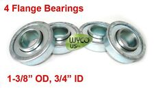 "FLANGED WHEEL BEARINGS 3/4""ID X 1-3/8""OD, SOME SNAPPER, TORO MOWERS, REPL 09327"