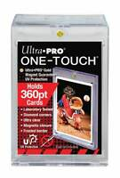 3 Ultra Pro ONE TOUCH MAGNETIC 360pt UV Card Holder Display Case 82719-UV 360