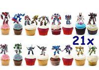 Transformers Eßbar Tortenaufleger NEU Party Deko Muffinaufleger Tortenbild dvd