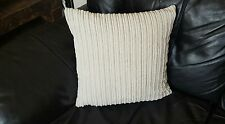 "18"" x 18"" Cream jumbo cord cushion cover. Why buy from NEXT?"