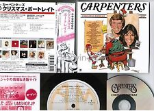 CARPENTERS Christmas Portrait JAPAN Mini-LP SHM-CD w/WIDE OBI UICY-94233 2009