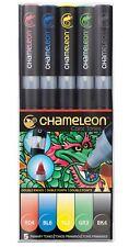 Chameleon Color Tones 5 Pen Set Alcohol Blending Gradient - Primary Colour Tones