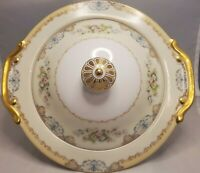 Meito China Langdon Vegtable Dish with Lid Hand Painted