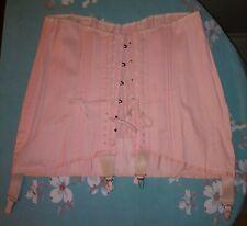 Nwot-Vintage Pink Corset-Girdle(Sarong)
