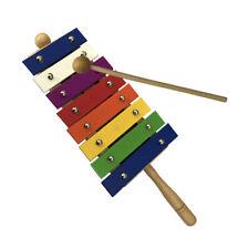 LN_ 8Key Glockenspiel Xylophone Music Early Education Percussion Instrument Ki