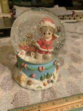 Precious Moments Musical Jingle Bells Globe