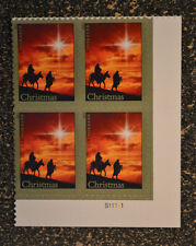 2013USA #4813 Forever - Holy Family - Christmas - Plate Block of 4 - Mint  NH