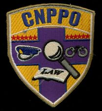 PNP CNPPO Academy Philippine Police PAF Patch
