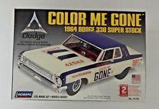 """New Sealed Lindberg1964 Dodge 330 Super Stock """"Color Me Gone"""" 1/25 #72156"""