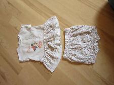 Süßes weiches Set Kombi Kleid + Shorts v. Disney Minnie Mouse Gr. 60 cm Baby TOP