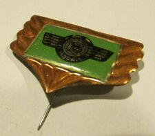 MORRIS OXFORD MINOR car Stick pin badge vintage 1950-1960S tin lithograph