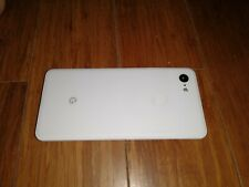 Google Pixel 3 XL - 128GB - Clearly White (Unlocked) + Case +2 Screen Protectors