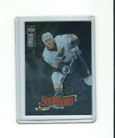 rare JIM CAMPBELL st louis blues ud YOUNG GUNS rc