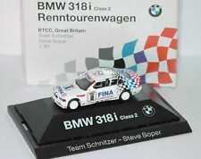 1:87 BMW 3er 318i e36 BTCC 1994 Schnitzer n. 2 Steve Soper-Dealer-Edition