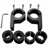 3X(2pcs Roof Bars LED Light Bracket Roll Bar Clamps Tube Clamp for Roll Cag8X4)