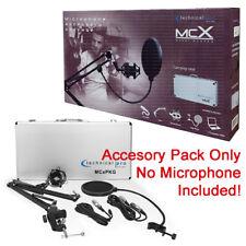 Technical Pro MCXPKG Holder Suspension Mount Case Accessory Pack for Microphone