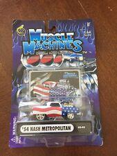 New listing Funline Muscle Machines '54 Nash Metro Sept 11,2001 Trib 1:64,DieCast,Misp (B6)