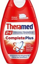 Theramed 2in1 Complete Plus Zahncreme & Mundspülung, 3er Pack (3 x 75 ml)