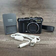 Canon PowerShot G9 12.1 MP 6x Zoom Digital Camera Black - Great Condition